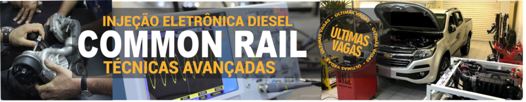Turma 30/11 a 02/12 – DIESEL Common Rail: Técnicas Avançadas